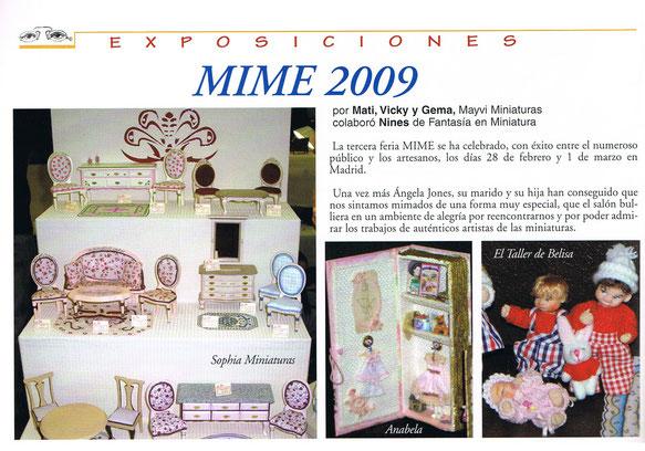 Publicación revista Miniaturas año14, nº 137