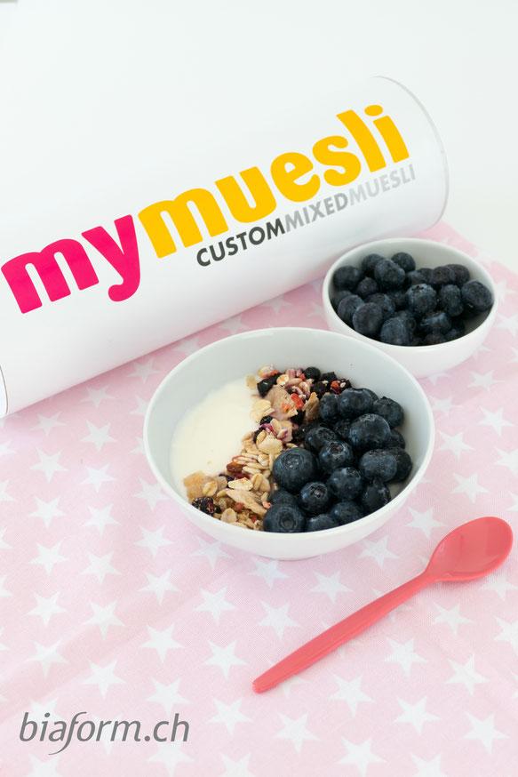mymuesli, gesundes Frühstück, gesunde Ernährung, Müesli, Foodblog Schweiz
