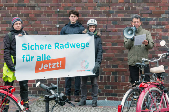 Mobilitätsgesetz Berlin Prenzlauer Berg Fahrradwege