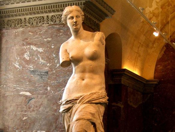Знаменитые шедевры Лувра - Венера Милосская