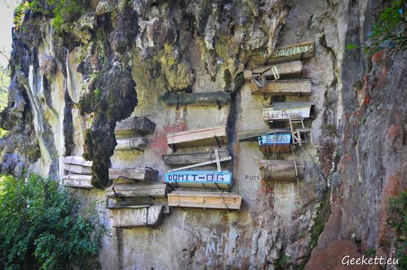 Les cercueils suspendus de Sagada
