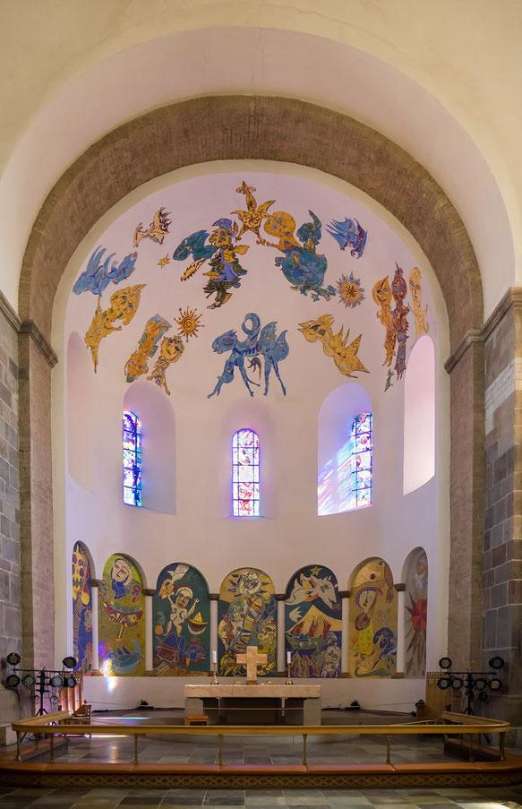 Der Altarraum des Doms von Ribe