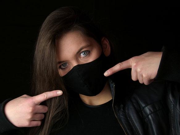 #stolzmaskiert Masketragen rettet Leben! Mach mit und sei ein Held!