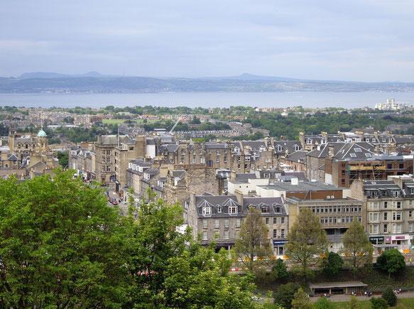 Vue de la ville d'Edimbourg