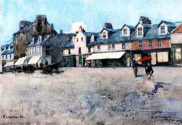 Peinture de Helensburgh en 1886