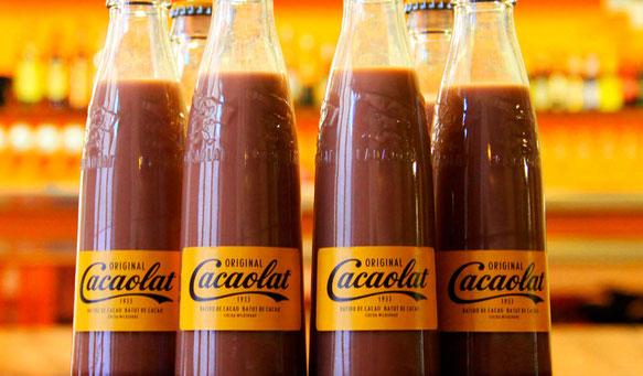 Cacaolat, el primer batut de llet i cacau industrialitzat del món