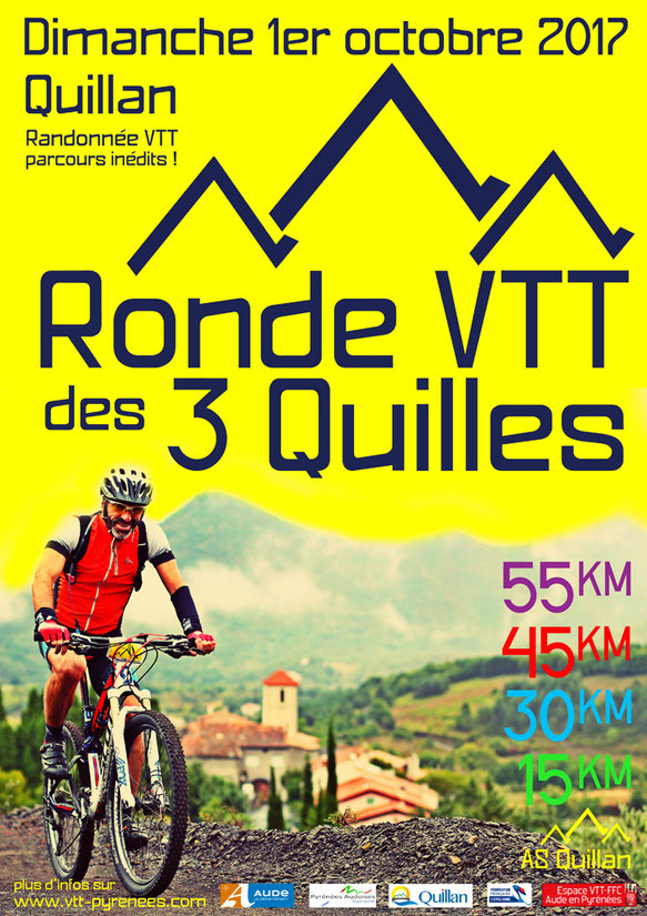 Ronde VTT des 3 Quilles 2017