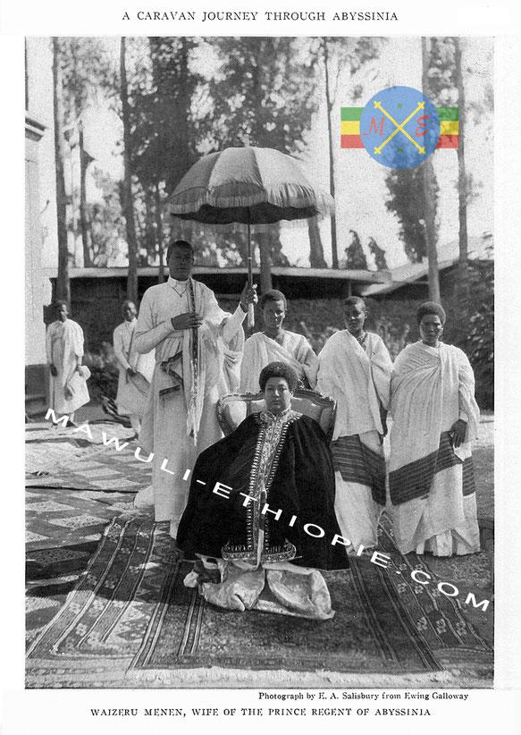 Itege Menen Ras Tafari Makonnen Gravure ethiopienne  Mawuli Ethiopie Plateforme Solidaire France Ethiopie Voyage Equitable Vêtement Robe écharpe Café Epice éthiopienne habesha Artisanat éthiopien