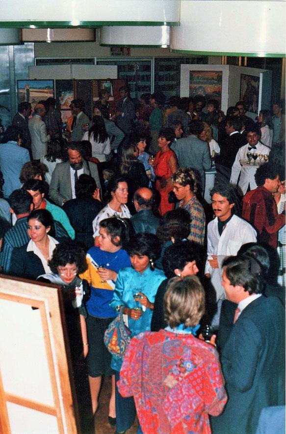 Exposition à Mexico en 1985