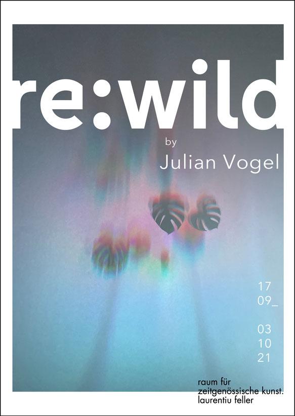 re:wild // Julian Vogel im rfzk - raum für zeitgenössische kunst . laurentiu feller