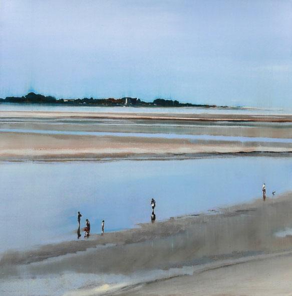 Huile photographique 50 x 50 encadrée - Cette œuvre n'est plus disponible (sauf DIASSEC)