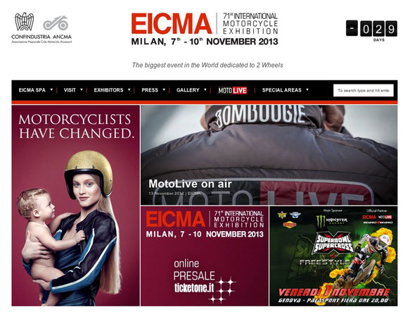 EICMA 71st International Motorcycle Exhibition