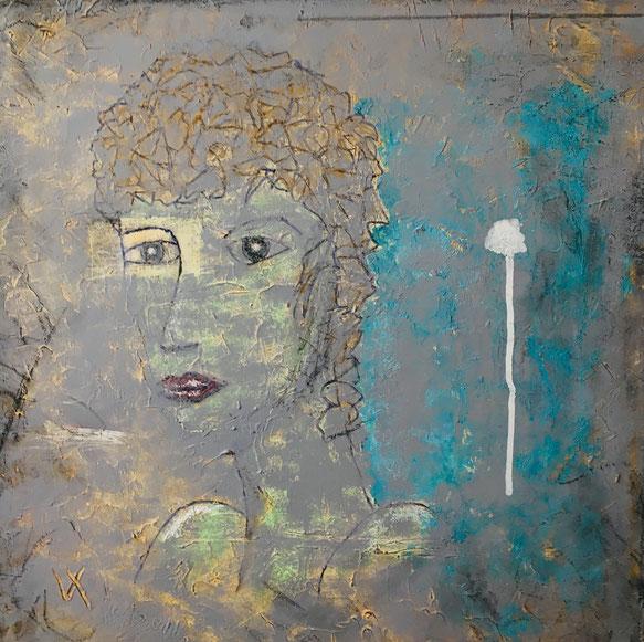 Huiles sur toile 3 D 60x60 Imperfection decor VII