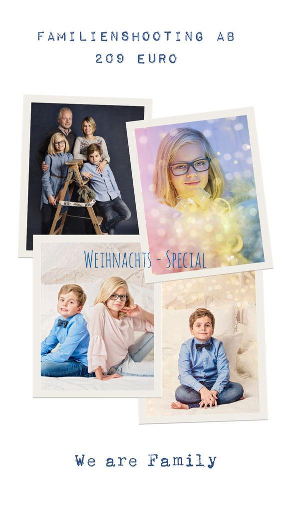 Weihnachts - Special ab dem 1.November bis zum 15. Dezember - ab 109 Euro / 4 Fotos in Hasloh - xmas - minisession