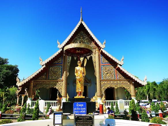 Tempelgelände des Wat Phra Singh