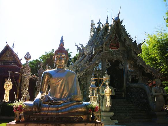 Wat Si Suphan - der silberne Tempel von Chiang Mai