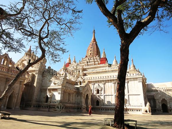 Ananda Pahto im Norden von Bagan