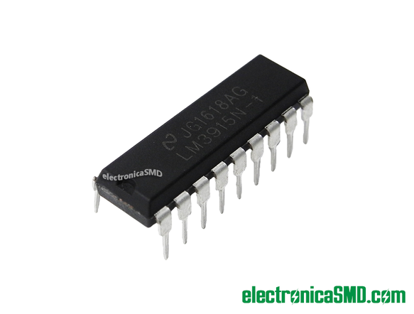 LM3915N LEDS Driver, electronica, electronico, lm3915 guatemala, guatemala, driver led