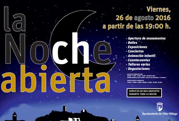 La Noche Abierta en Vélez-Málaga