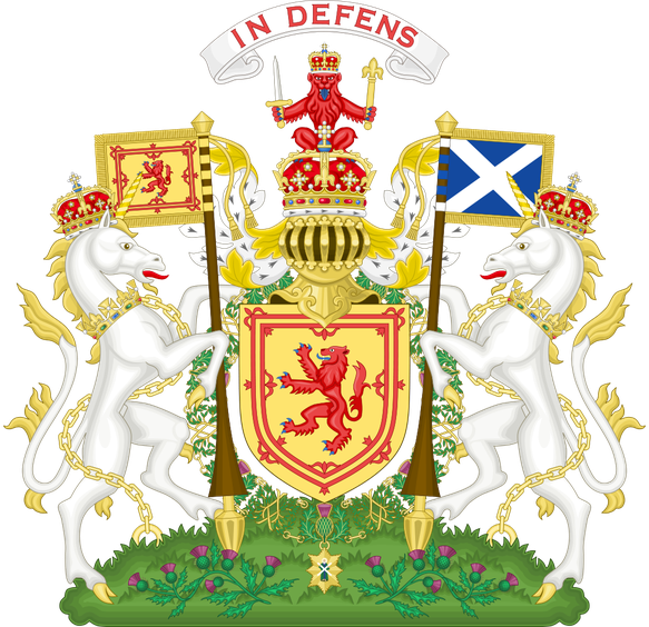Armoiries royales d'Écosse avant 1603