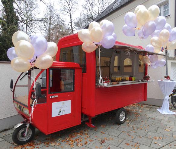 Foodtruck für mobiles Feiern