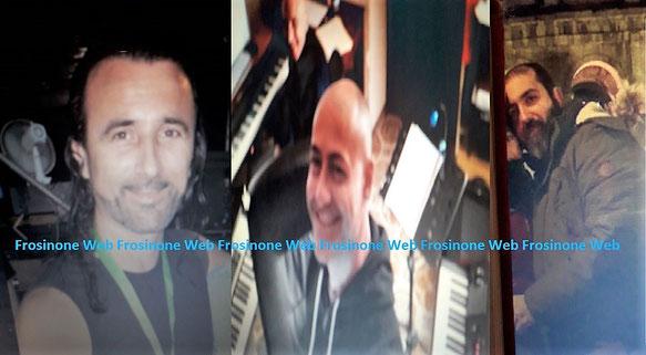 da sinistra Maurizio Mingarelli, Fabio Raponi, Marco Ceci