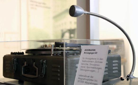 Telephonica: Assmann Ansagegeraet