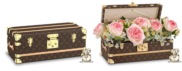 Reissue trunk flowers - 2015 Louis Vuitton