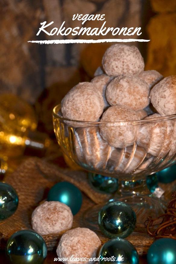 Rezept für zuckerfreie, vegane Kokosmakronen