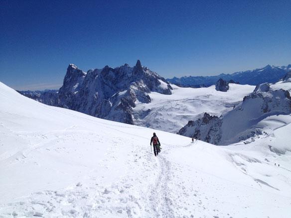 Col du Midi : Aiguille du Midi - Chamonix Mont-Blanc