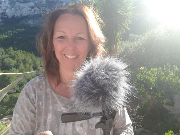 Kerstin Mais - Aufnahme Episode 066 beim Mitmacher Morgen Start - Aufwachpodcast