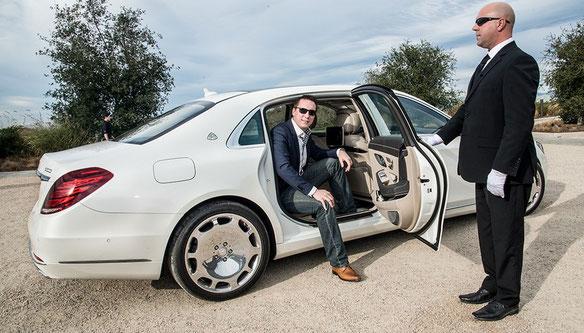 Аренда VIP автомобилей с водителем