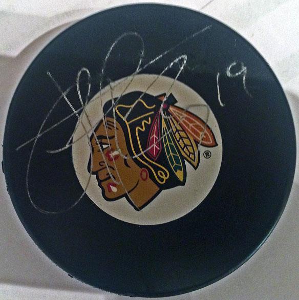 Autograph Jonothan Toews Autogramm