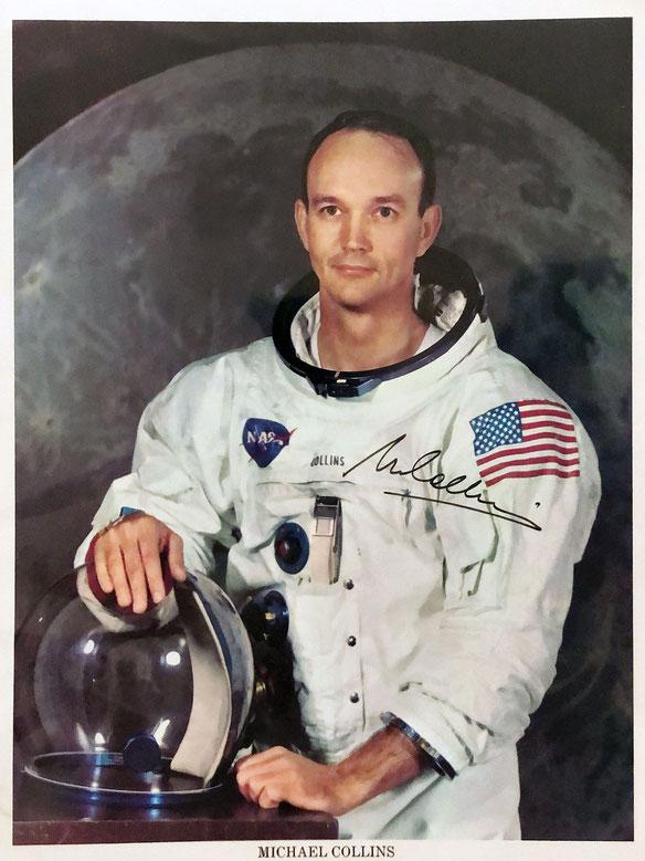 Autograph Michael Collins Autogramm