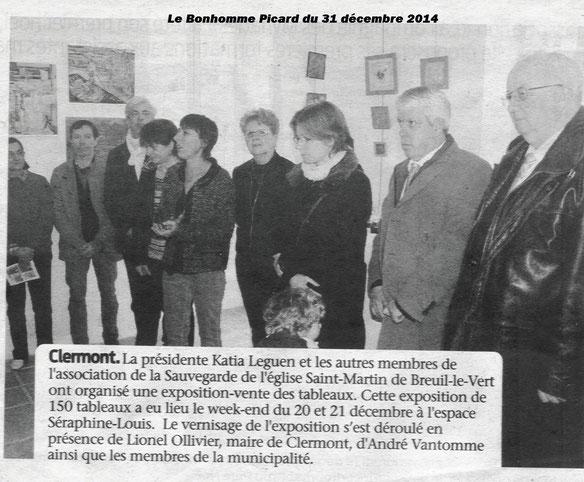 """31 décembre 2014 - Journal """"Le Bonhomme Picard"""""""