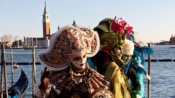 Texterclub Schweiz Bild von Matthias Horber - Carnevale Venezia, venezianischer Karneval, Maskengruppe