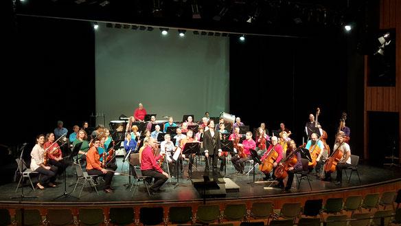 Orchester, concentus alius, Berlin, Konzertbühne,