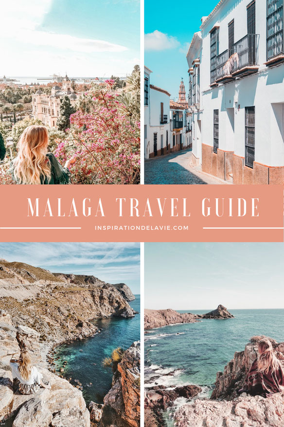 Explore Malaga, the Mediterranean coastal city with its unique landscapes, beaches and culture on your trip to Spain. Take a road trip in Andalusia, along the Costa del Sol. Find highlights and insider tips. #malaga #inspirationdelavie #traveltips