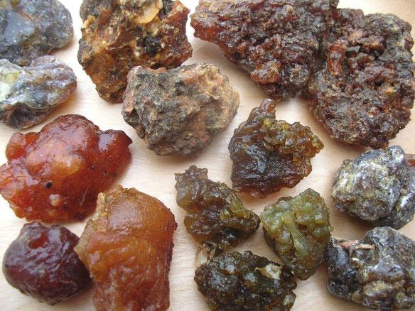 Myrrhe Harz Sorten Arten Räucherstoffe