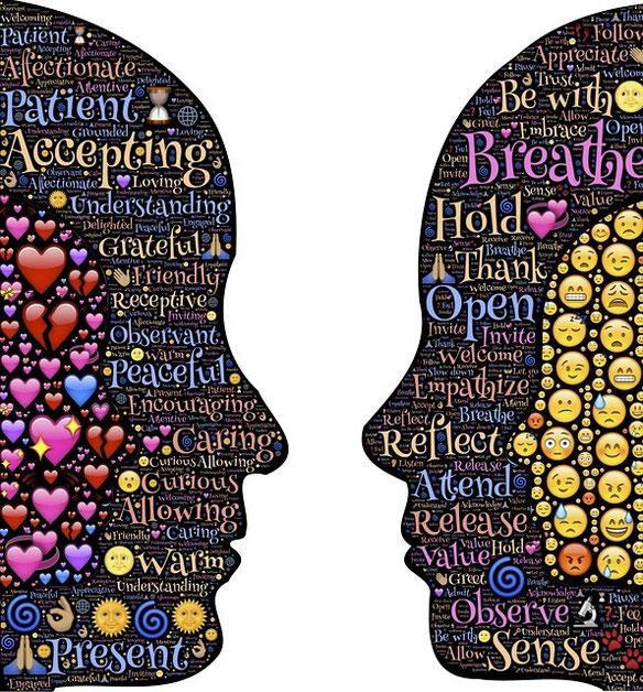 Empathie in der Therapie, Mitgefühl statt Mitleid. Ins Gleich-zu-Gleich gehen. Blog Naturheilpraxis Norma Bendt