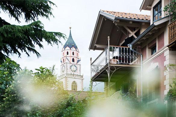Villa Bergmann Suites in Meran Merano Gourmet Südtirol