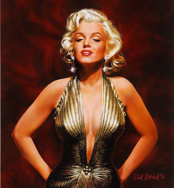 лучшие живописные картины Dick Bobnick