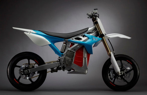 BRD Motorcycles RedShift SM electric motorbike