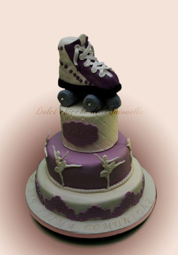 torta pattinatrice-ballerina-danza-dolci-la spezia- liguria-feste-eventi-compleanno