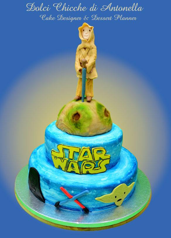 torta star wars-torta compleanno-dolci-la spezia- liguria-feste-eventi