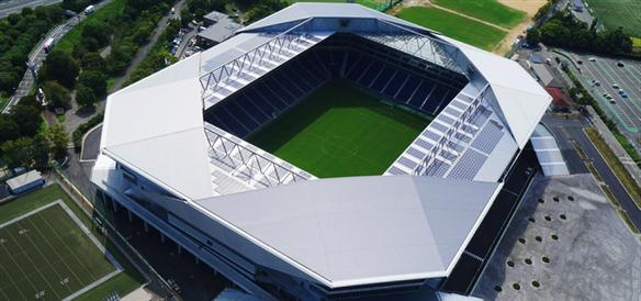 ガンバ大阪のホームスタジアム、市立吹田スタジアム