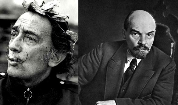 Дали и другие знаменитости. Владимир Ильич Ленин и Дали