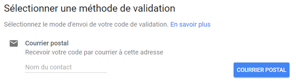 methode de validation fiche google my business