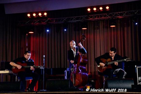 Schönes Konzert mit dem Gismo Graf Trio am 16.09.18 beim Sinti Festival in Darmstadt
