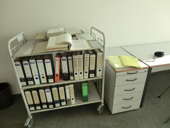 Aktenstillleben bei der LUBW in Karlsruhe